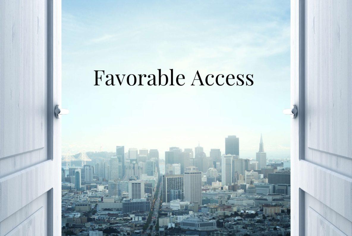 favorable access